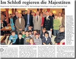2012-10-31 - Goslarsche Zeitung - Bad Harzburger Schachtage