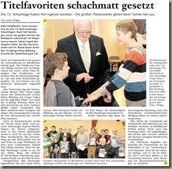2012-11-05 - Goslarsche Zeitung - Bad Harzburger Schachtage