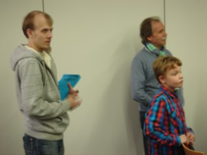 Felix bei Preisverleihung